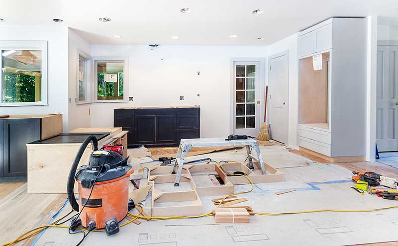 Move Out During Home Renovations