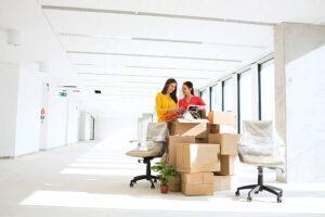 organize a corporate move